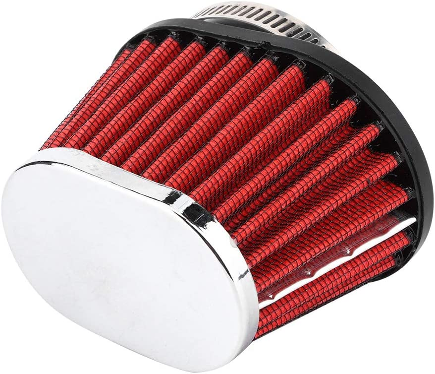 Akozon Filtre /à air du moteur T/ête de champignon de moto Accessoire de filtre /à air pour moteur 51mm