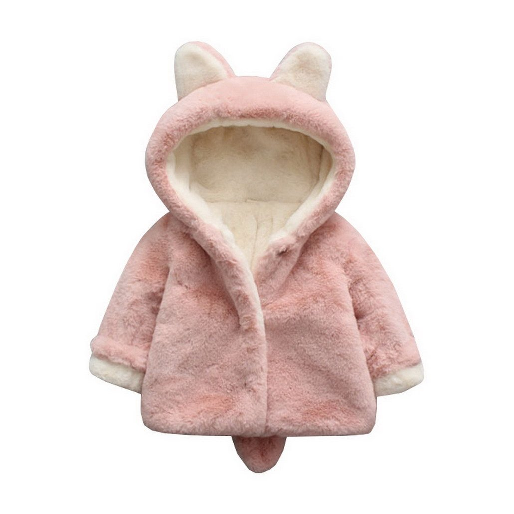 Newborn Baby Coat Cloak Jacket Thick Warm Clothes With Hood Warm Evedaily