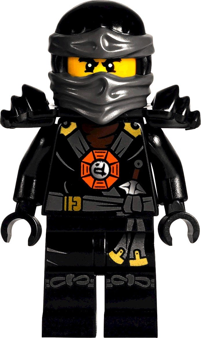 LEGO Ninjago: Deepstone Cole Sans Arme Mini-Figurine