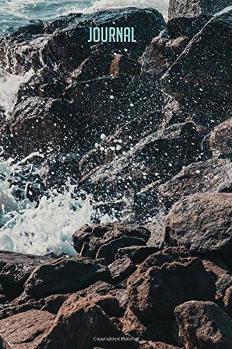 Journal: Crashing Waves 6x9 Songbird (College Ruled) pdf