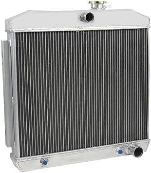FIT Chevy Bel Air L6 1955 1956 1957 3 Rows Core Aluminum Radiator