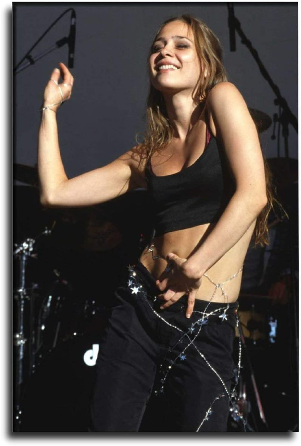 IUYT Famous Rock Singer Fiona Apple Sexy Dancing Poster Living Room Bedroom Mural Poster Decorative Painting Canvas Wall Art Living Room Posters Bedroom Painting 12×18inch(30×45cm)