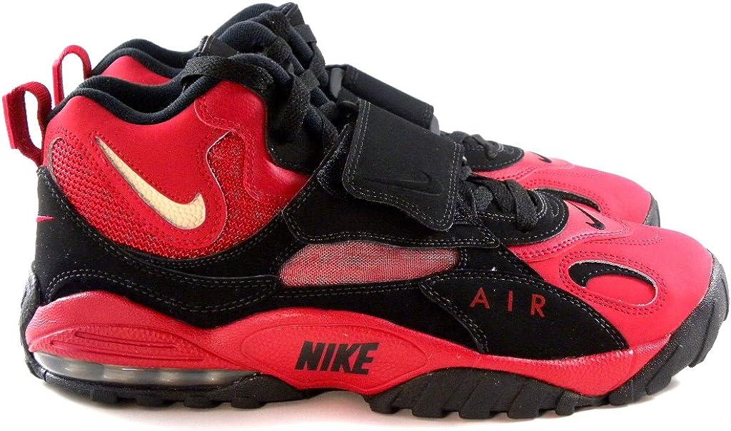 Nike Air Max Speed Turf 49ers Black Red