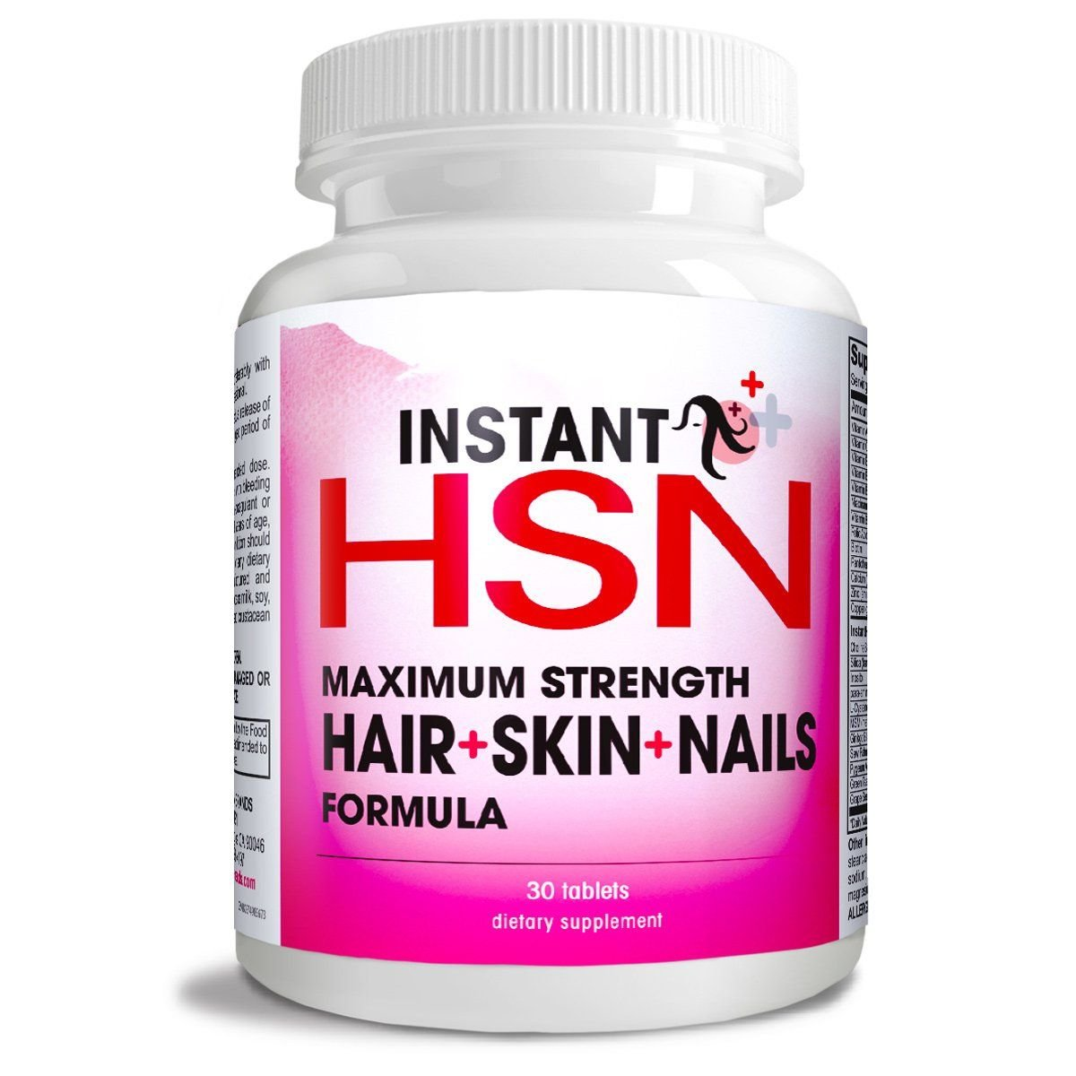 Amazon.com: Instant HSN All-Natural Hair, Skin, and Nails ...