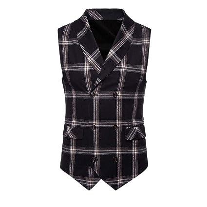 Goldatila Mens Waistcoats Mens Classic Paisley Floral Jacquard Waistcoat Necktie and Pocket Square Vest