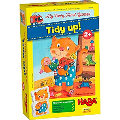 HABA My Very First Games Tidy Up! - A Cooperative Organizing Game for Ages 2+ (Made in Germany): Toys & Games