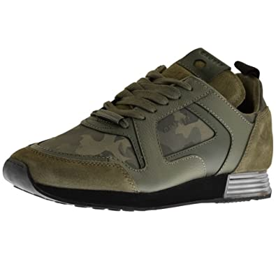 72c296ea614 Mens Cruyff Classics Lusso Trainers Green - 10 (44.5): Amazon.co.uk ...