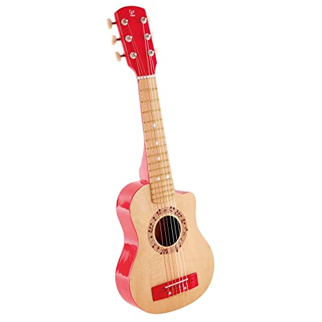 Hape Kids Red Flame First Musical Guitar