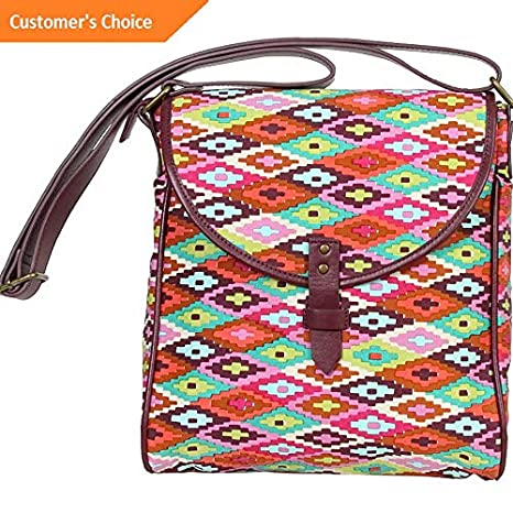 Amazon.com | Sandover Amy Butler for Kalencom Broadway Crossover Bag 4 Colors Cross-Body Bag NEW | Model LGGG - 8159 | | Luggage