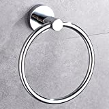 Hand Towel Ring Stainless Steel And Chrome