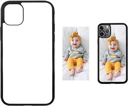 Lot de 5 coques de téléphone à sublimation pour iPhone 11 Pro 5,8