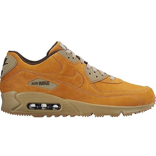 finest selection 4761e f50e0 Nike Air Max 90 - Zapatillas deportiva para invierno, color gris, color  beige, talla 7  Amazon.es  Zapatos y complementos