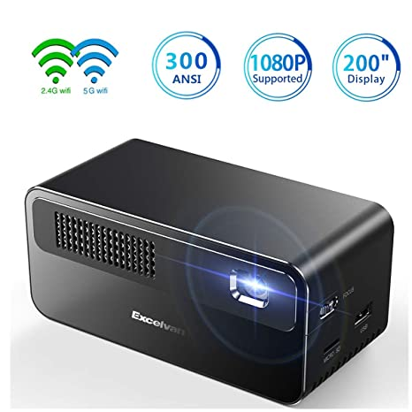 Amazon.com: Proyector 1080P Nativo 24W LED Bombilla 20000 ...