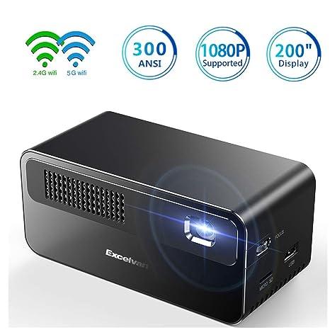 Amazon.com: Proyector 1080P Nativo 24W LED Bombilla 20000 ...