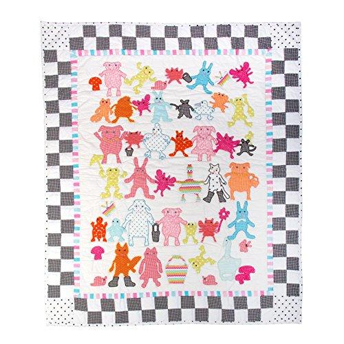 - MacKenzie-Childs Animal Parade Baby Quilt
