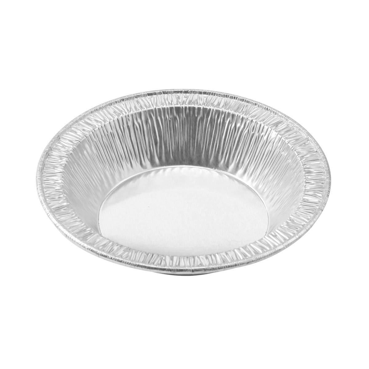 5 oz. Disposable Aluminum 4½'''' Deep Tart/Individual Pie Pan #B13 (1000) by KitchenDance