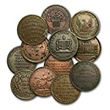 1832 -1844 Copper Hard Times Tokens Avg Circ/VF (Random) Collection Very Good