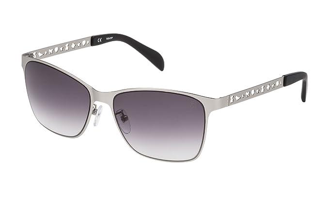 Tous STO333-570581, Gafas de Sol para Mujer, Matte Palladium, 57