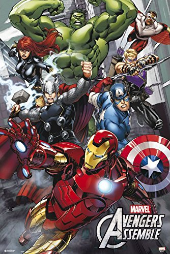 The Avengers - Marvel Movie / Comic Poster / Print