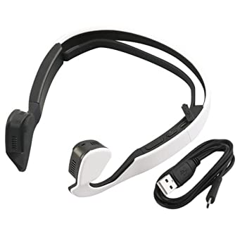 Hzhy Bone Conduction Bluetooth 4.1 Reducción de Ruido Waterproof Sweat Headset Auricular Bluetooth para móvil Conducción