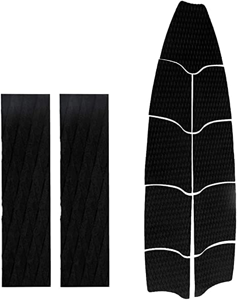 Easy to Apply Multiple Colors CUTICATE 9Pcs Paddle Board Traction Pad Deck Grip Pad Great Replacement Deck Pad for Your SUP