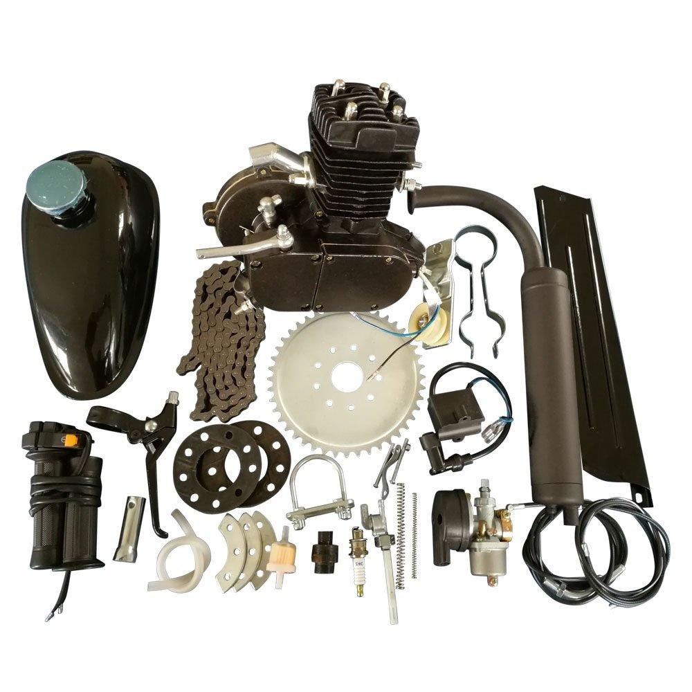 Roadstar 50cc Bicycle Engine Kit 2 Stroke Gas Motorized Wiring Harness Iding Machine For Sale Motor Bike Black Automotive