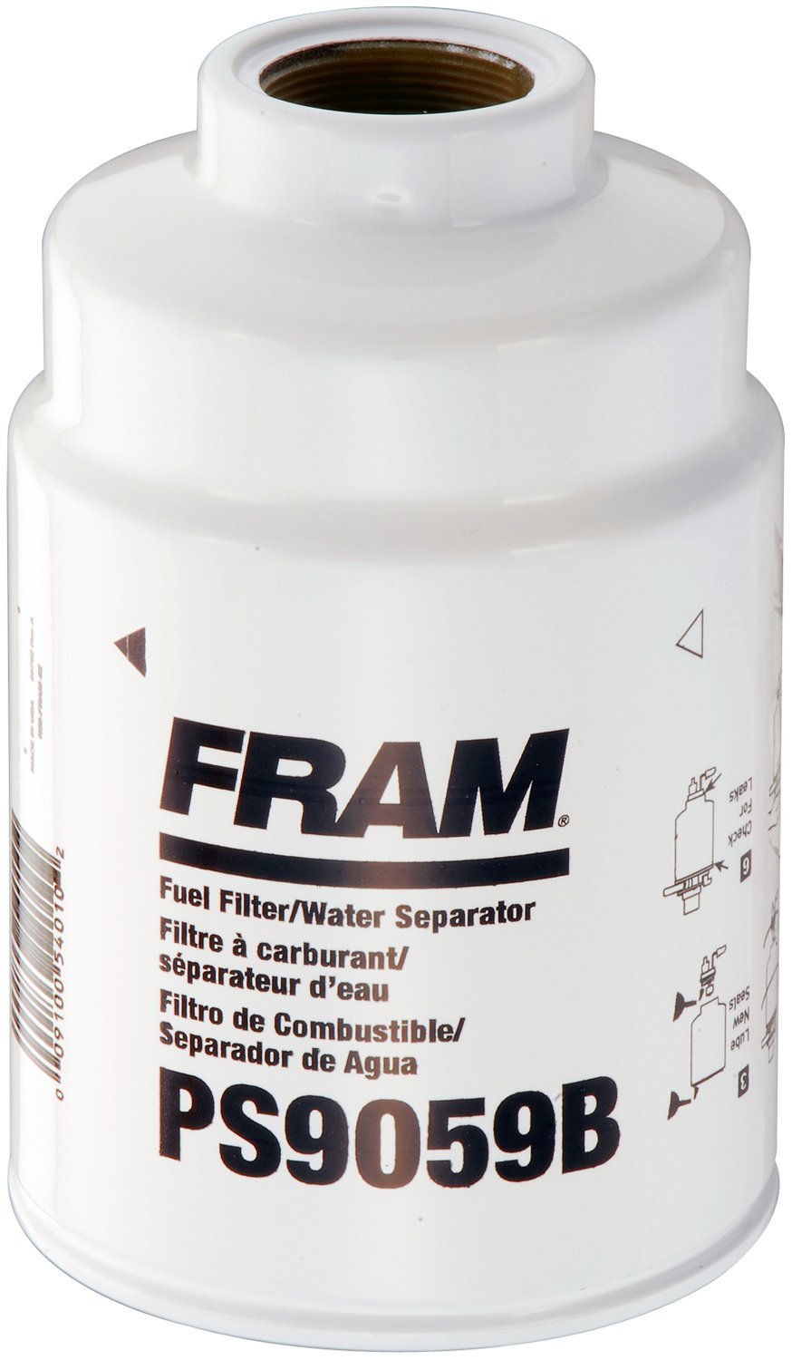 FRAM PS9059B Spin-On Fuel and Water Separator Filter