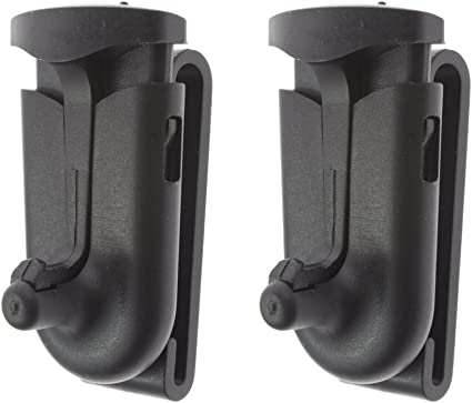 2-Pack Swivel belt clip Walkie Talkie Radio Belt Clip Compatible with MOTOROLA Models EM,MR,MH,MB,MC,MJ,T Series T9680//T9580XLR//T8500//T7000//T6000//T5000//T4000 SX709R//SX920R MJ270R//MJ430 MC220R//MC225R