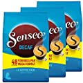 Senseo Coffee Pods - 48 Pods - Different Flavor - Imported From Netherlands (Decaffeinated, 144)