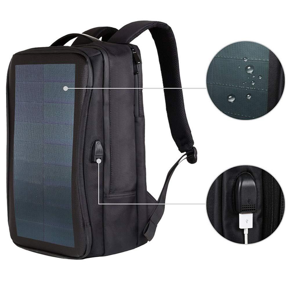 ビジネス携帯電話充電トラベルバッグメンズカジュアルフレキシブルバックパック/屋外緊急ソーラーバックパック/アウトドアスポーツピクニック用 いいよ