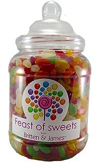 Jelly Babies 14kg Big Feast Of Sweets Jar By Britten