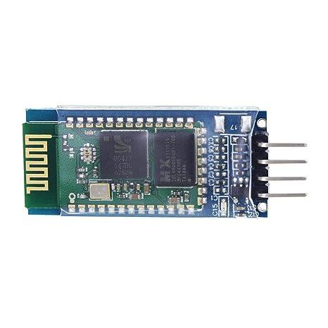 HC-06 de serie reemplazo de 4 pines Bluetooth Transeiver Módulo maestro de RF inalámbrico