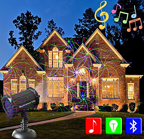 Outdoor Christmas Lights And Music
