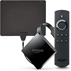 Fire TV with 4K Ultra HD (2017 Edition, Pendant) + HD Antenna