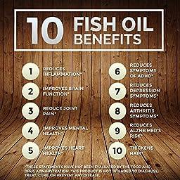 Omegaboost Omega-3 Fish Oil (120 Capsules - 1250mg – Softgel) Lemon Flavored