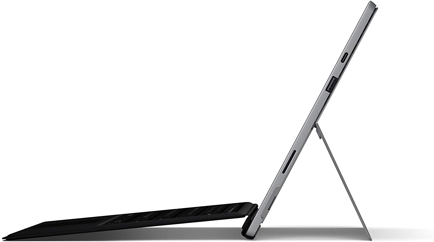 Microsoft Surface Pro 7 side overview