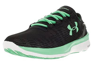 Under Armour Women's Speedform Apollo 2 Rf Blk/Wht/Anf Running Shoe 6 Women