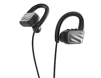 Deportes a prueba de agua Auriculares inalámbricos Bluetooth Colgando Música del oído Correr Biauricular Auriculares Deporte
