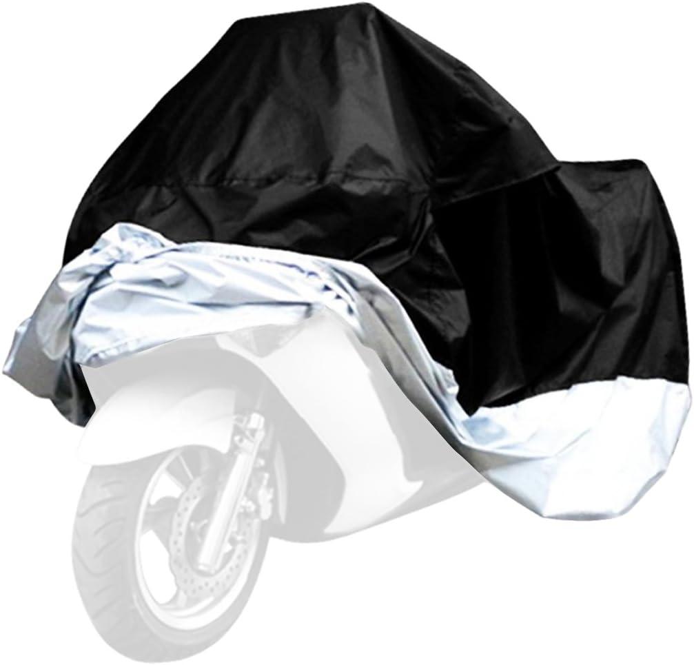 Medium Housse de protection de moto imperm/éable universelle anti-poussi/ère UV UV pliable pour toutes les motos et v/élos Comme sur limage N/° 0