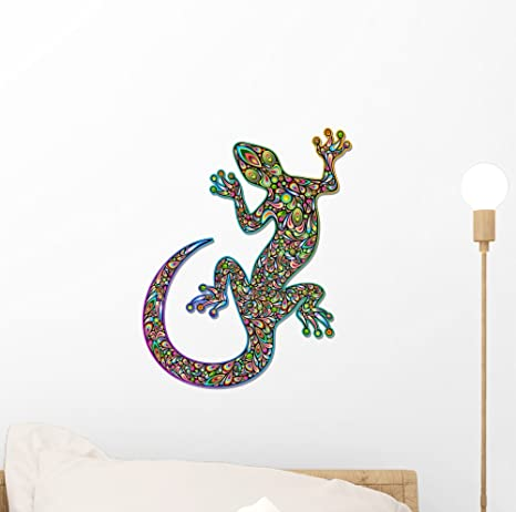wall decal GECKO wall stickers geckos walltattoos kids geckos wall decals children wall sticker gecko deco wall pictures children  viilou