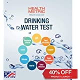 Health Metric  Drinking Water Test Kit for Home Tap and Well Water - Simple Testing Strips for Lead Copper Bacteria Nitrate Chlorine and More | Made in USA to EPA Standards