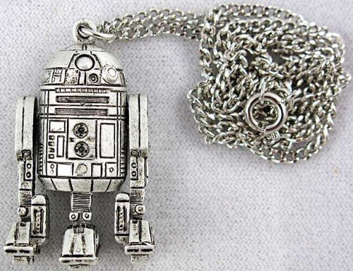 1977 Star Wars R2-D2 Pendant Necklace Vintage