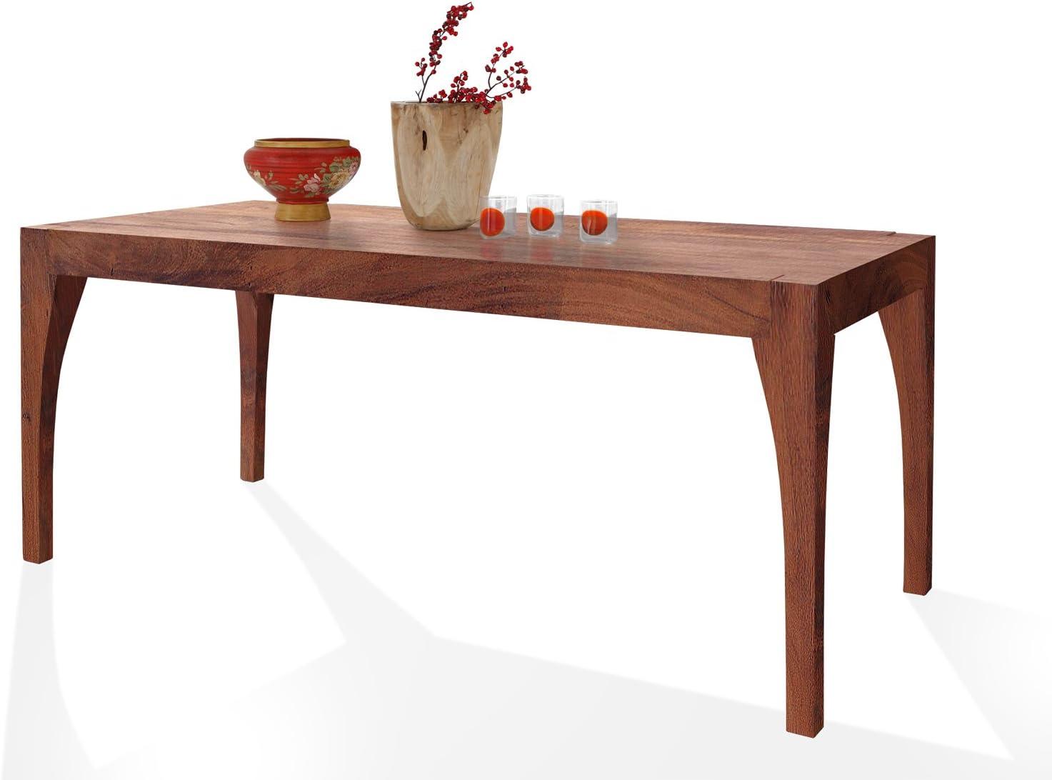 SAM Esszimmertisch Organic 4614 in Stone aus Akazie, Tisch