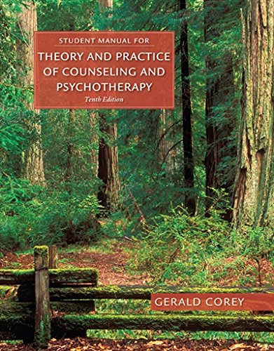 Student Manual Theory & Practice Counseling & Psychotherapy