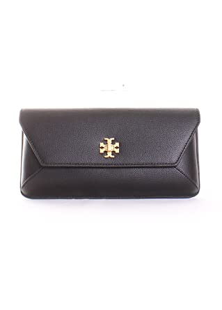 d9620cc058 Amazon.com: Tory Burch Kira Envelope Clutch in Black: Clothing