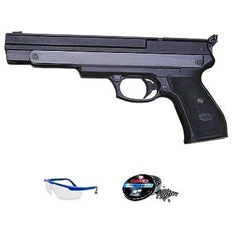 Pack Pistola de Aire comprimido GAMO PR45 - Arma de Muelle y balines (perdigones de