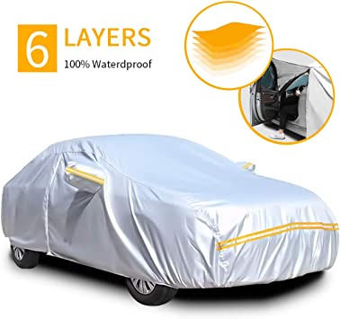 HEAVY DUTY WATERPROOF CAR COVER BMW 1 SERIES HATCHBACK