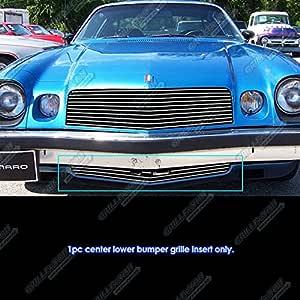 ZMAUTOPARTS Upper Billet Grille Grill Insert Black For 1978-1981 Chevy Camaro