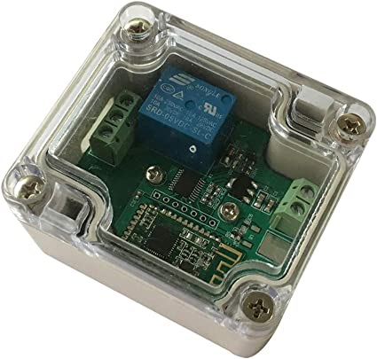 Smartphone//cell phone controlled wireless relay switch Lazy Bone Android//WiFi