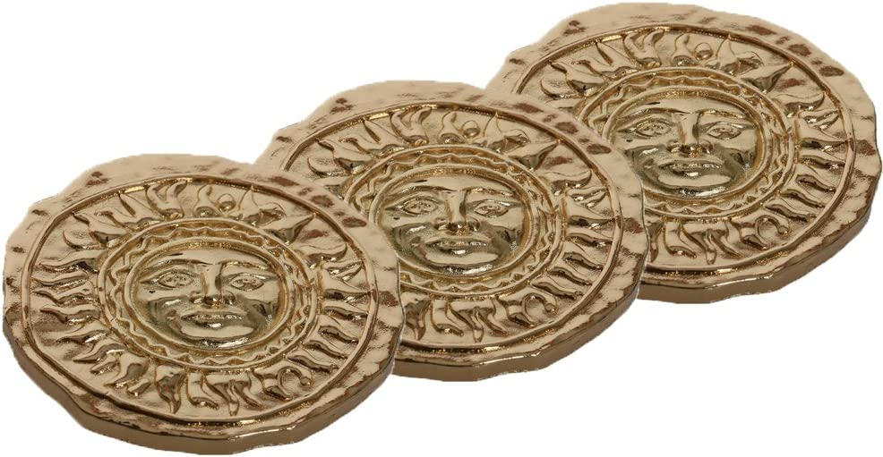 Mesky Lucky Coin of Mad Sweeney Collection Present for Girls Fans Accessories